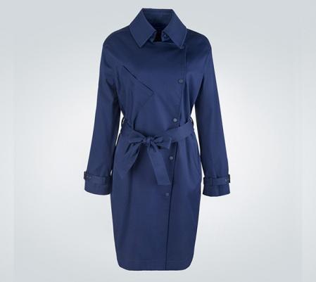 商务型女士长款风衣外套