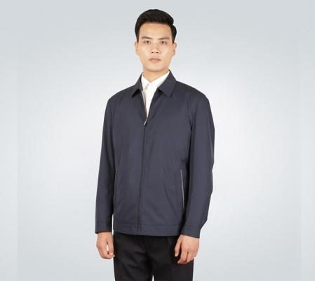 经典翻领夹克衫工作服外套