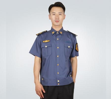 男士夏季短袖衬衫交警服