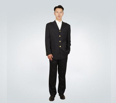 中国海事男士制服套装