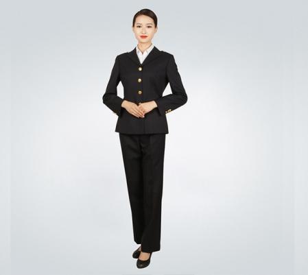 中国海事女士制服套装