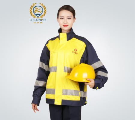中国航油防静电工作服外套