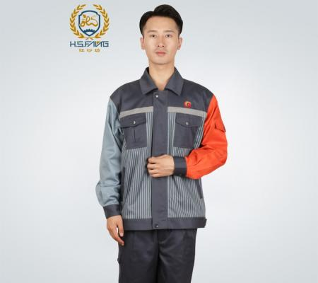 中国航油防静电夹克工作服外套