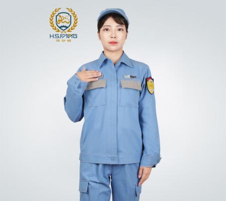 中国南方电网防静电工作服外套