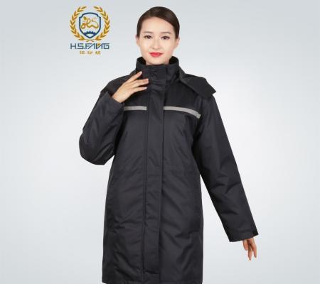 冬季防寒服中长款风衣外套