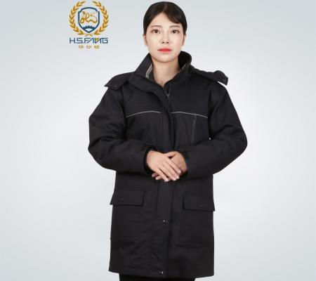 冬季防寒服中长款女外套
