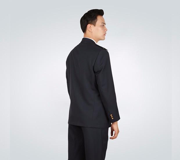 男士春秋季交警制服套装