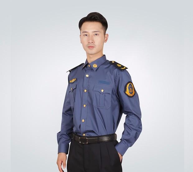 男士长袖衬衣春秋_男士春秋季长袖衬衫交警服,警察装-成龙服饰